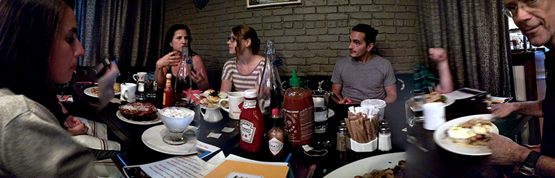 NeigerDesign team at Kanela Breakfast Club strategy presentations