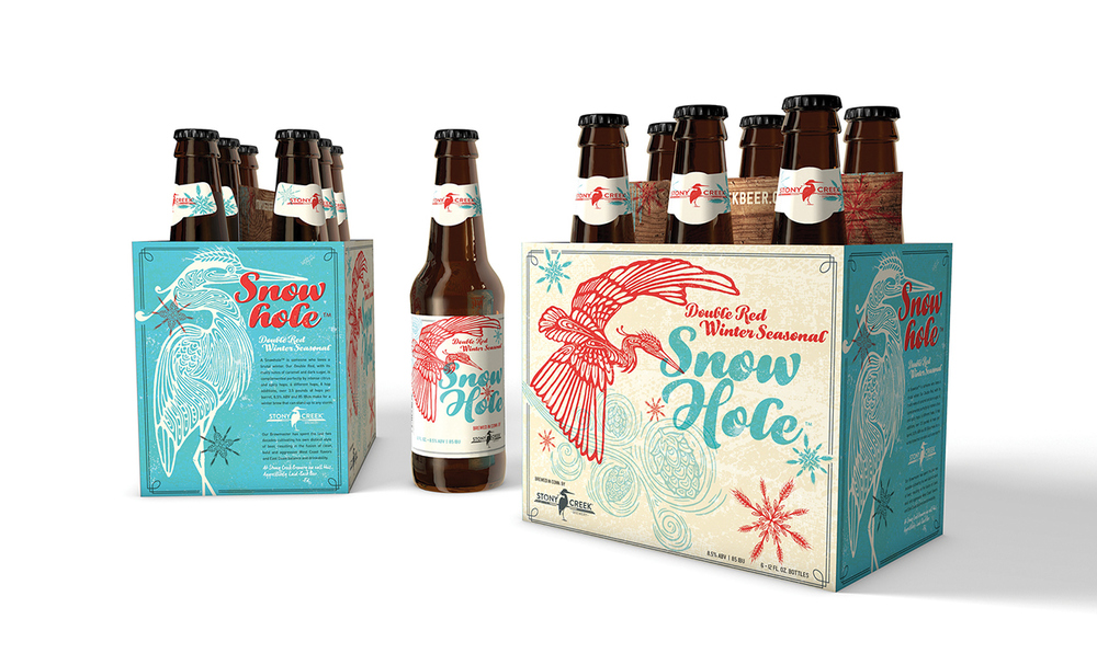 Stony Creek Brewery beer label design inspiration
