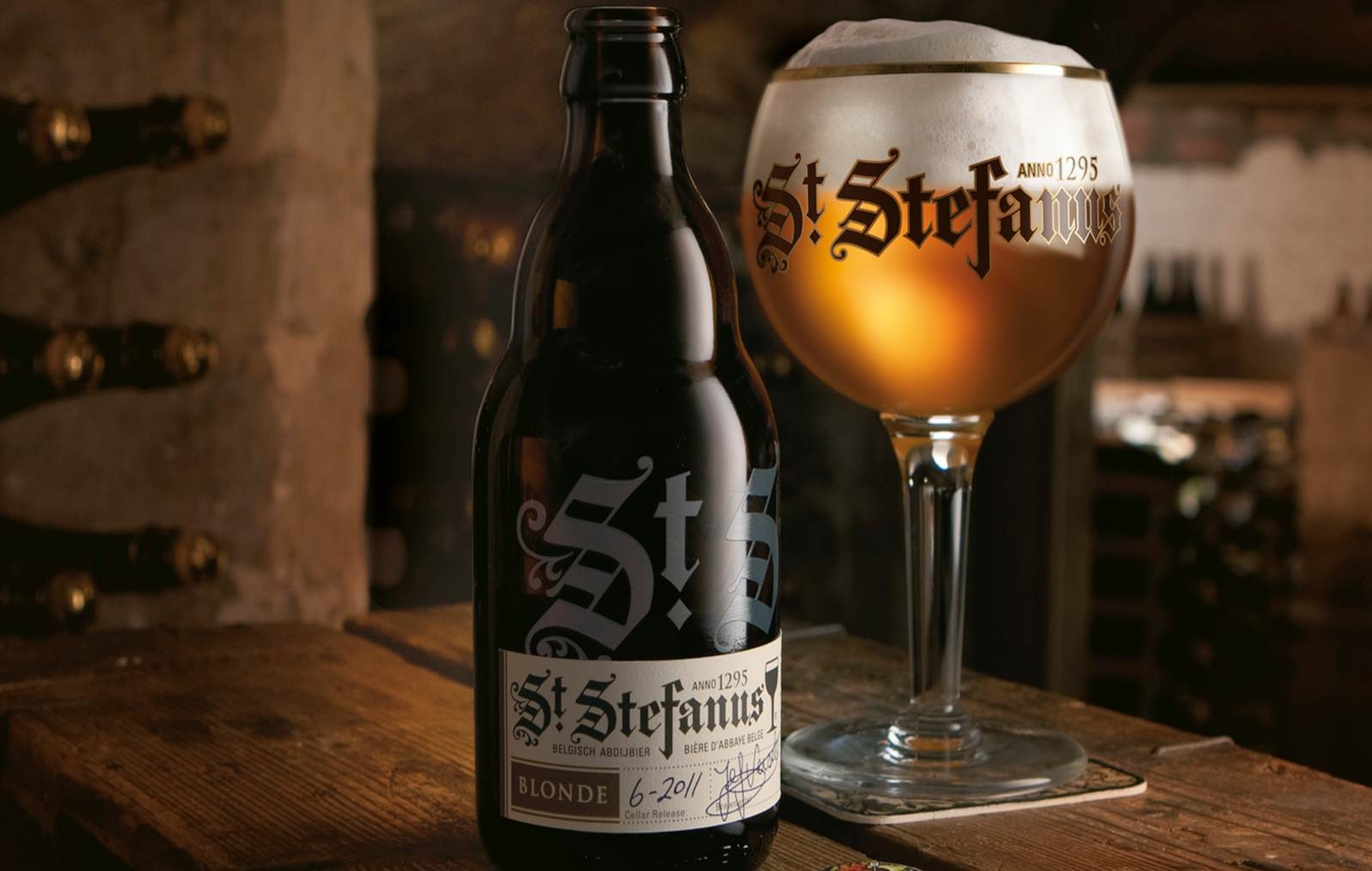 St. Stefanus beer label design inspiration