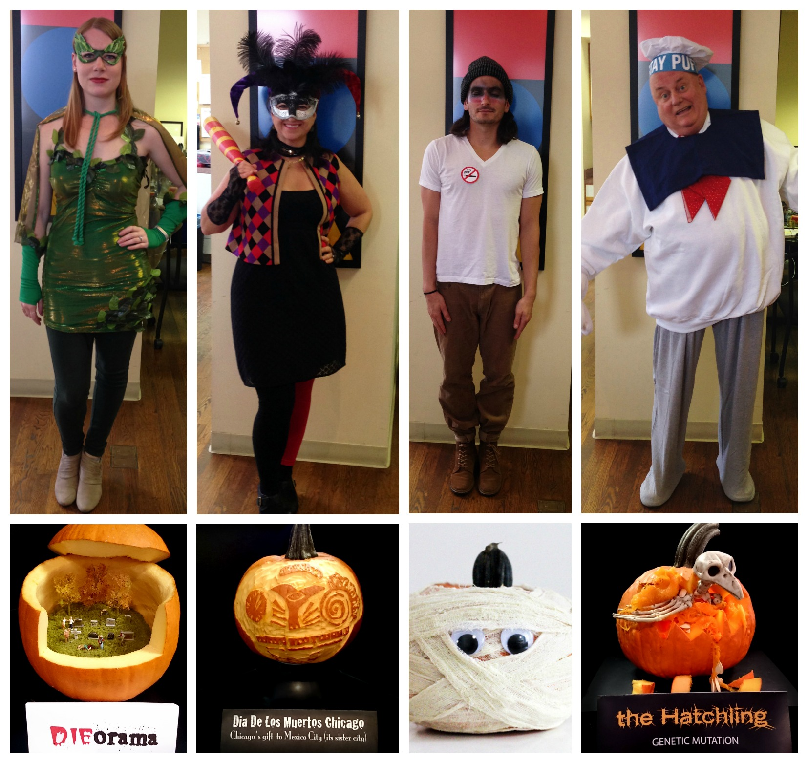 Halloween group NeigerDesign pumpkin contest villain costume