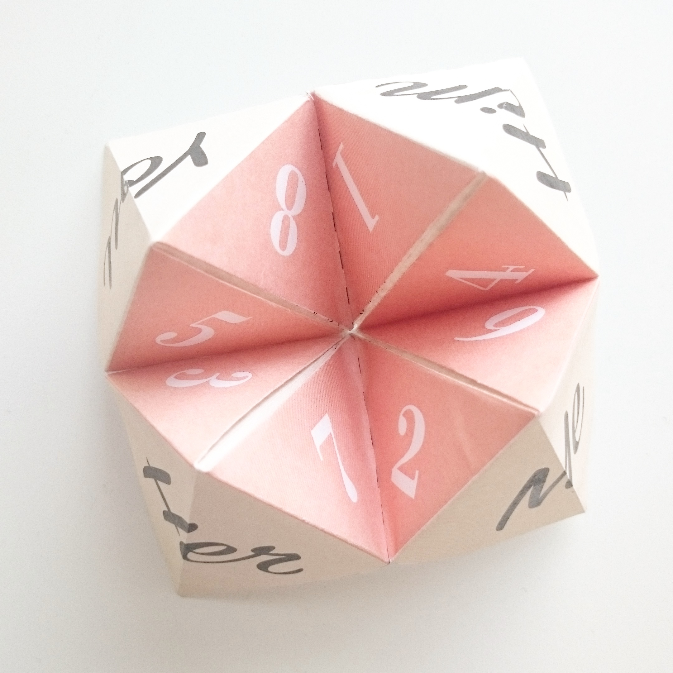A Valentine's Day Cootie Catcher Download Printout for You