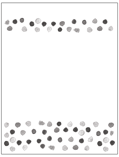 Thumbnail Dots Printable Stationery Letterhead by NeigerDesign