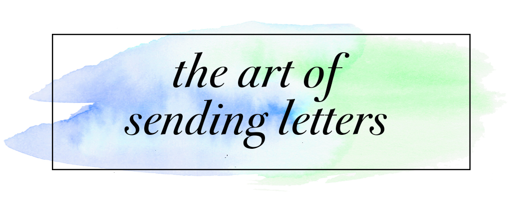 The Art of Sending Letters header image