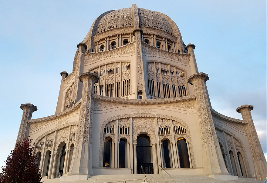 Baha'i House of Worship in North America