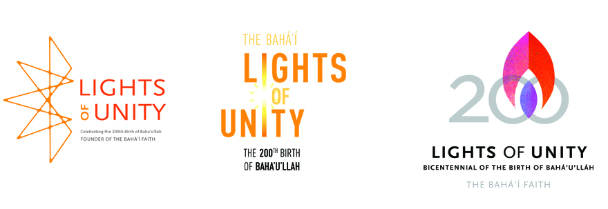 Baha'i Light of Unity Festival branding concepts by NeigerDesign