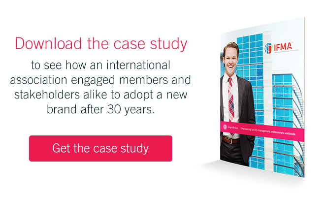 Read the case study on rebranding a large association