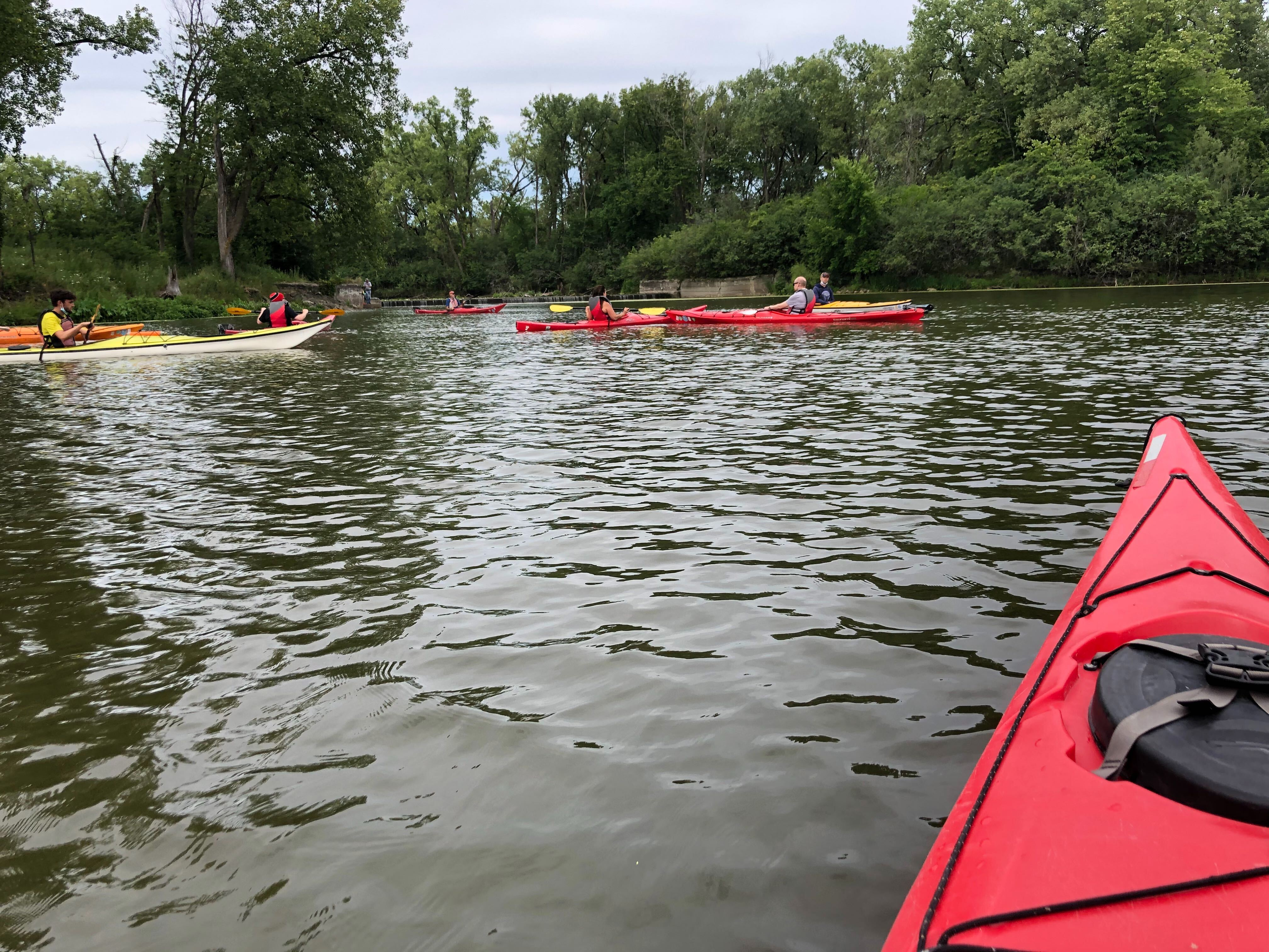 Skokie Lagoons Kayaking
