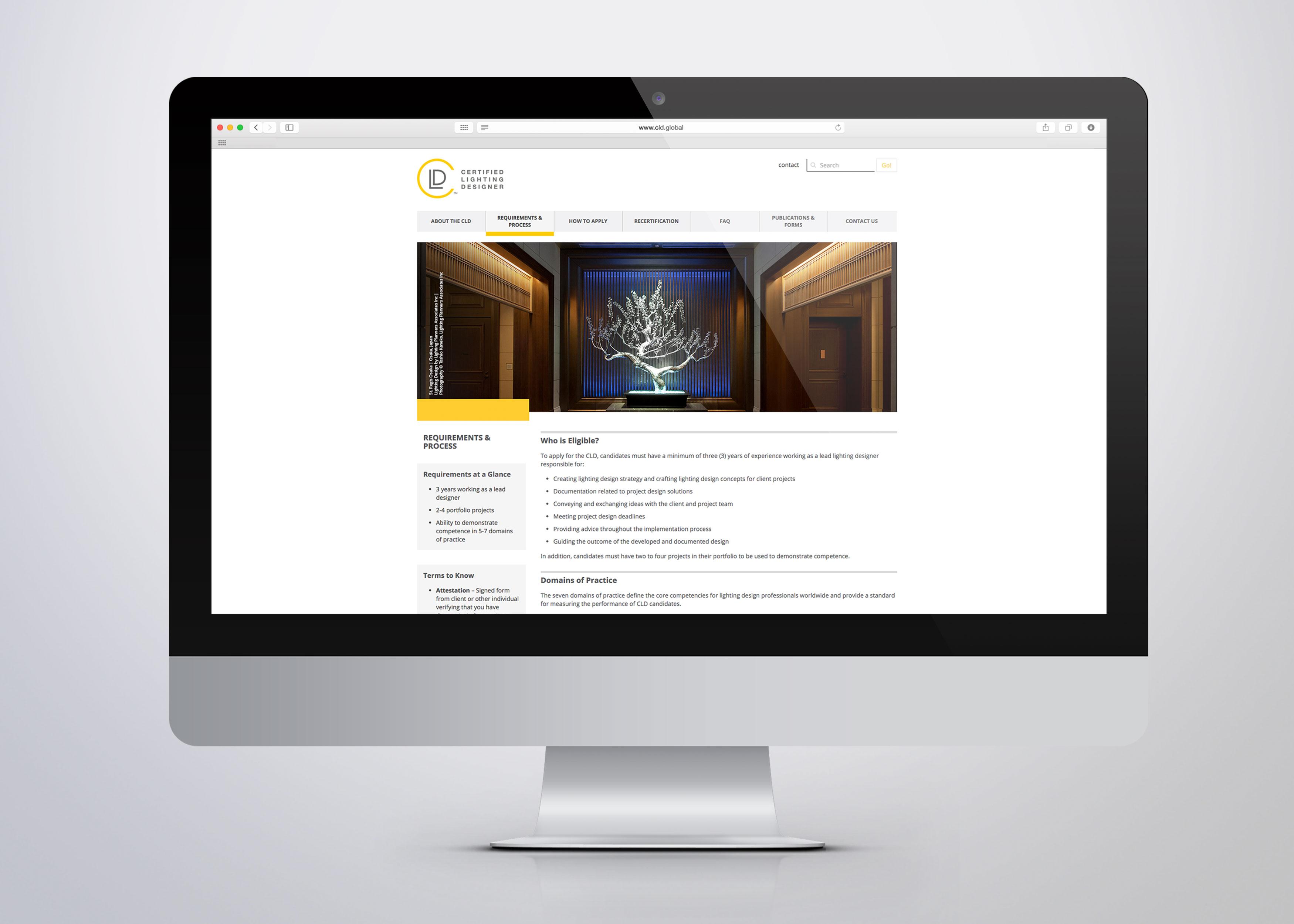 Certified lighting designer website