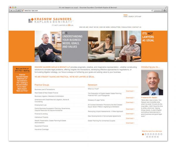 NeigerDesign Redesigns Law Firm Website