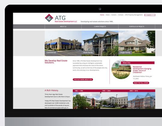 ATG Real Estate Development Website