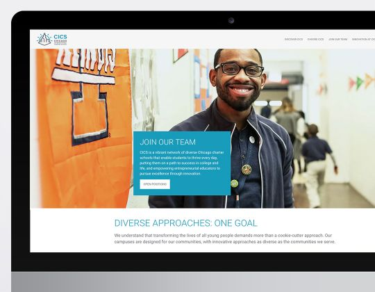 Chicago International Charter Schools (CICS) Website