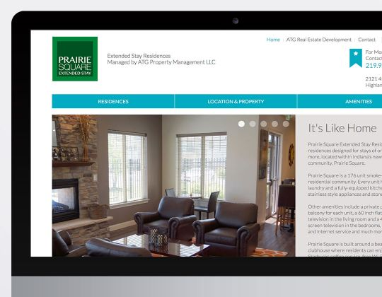 Prairie Square Extended Stay Website