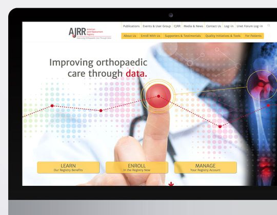 American Joint Replacement Registry Website