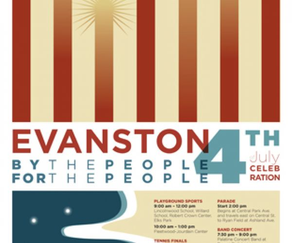 NeigerDesign Helps Evanston Celebrate 4th of July!