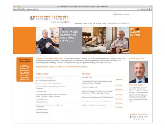 NeigerDesign Redesigns Law Firm Website