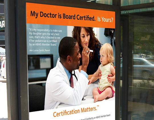 American Board of Medical Specialties Ad Campaign
