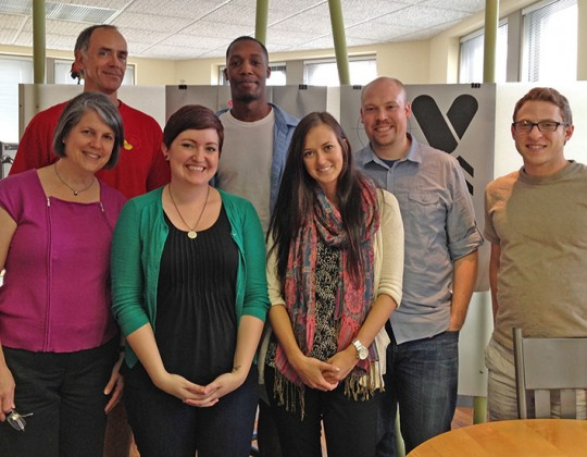 Andrew Visits NDI from College