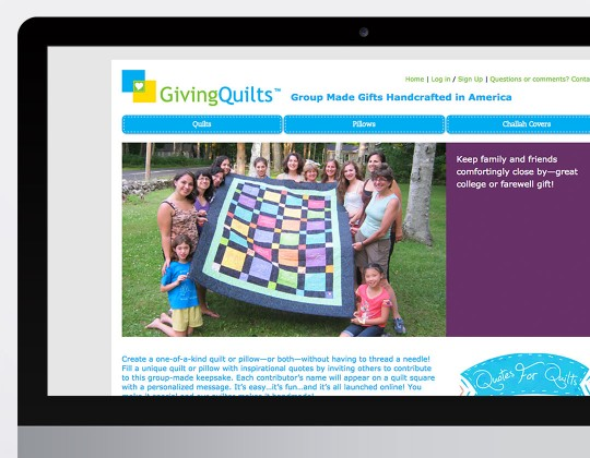 GivingQuilts Website