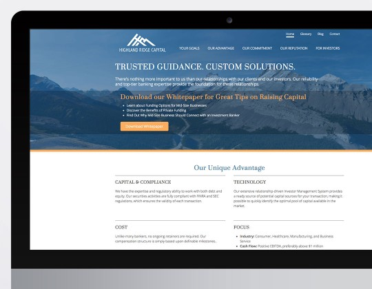 Highland Ridge Capital Website