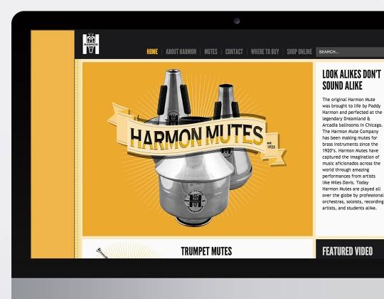 Harmon Mutes Website