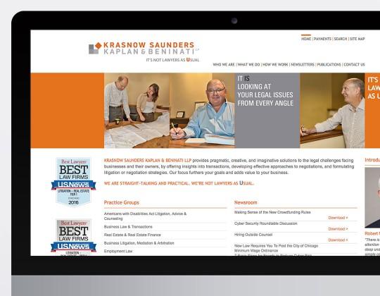 Krasnow Saunders Kaplan & Beninati Website