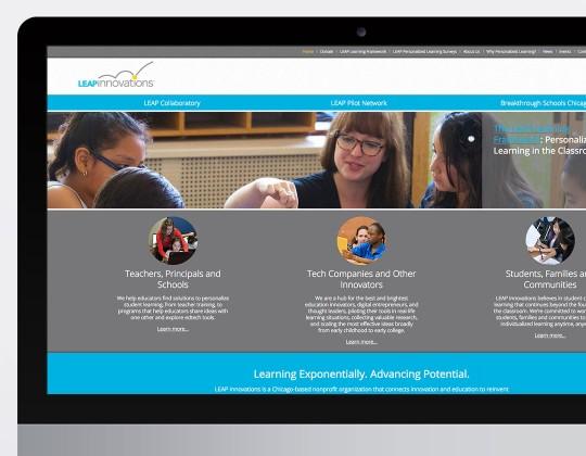 LEAP Innovations Website
