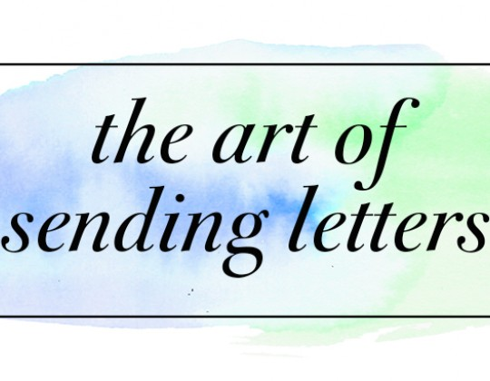 The Art of Sending Letters