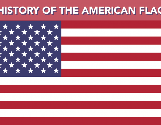Infographic: History of the American Flag