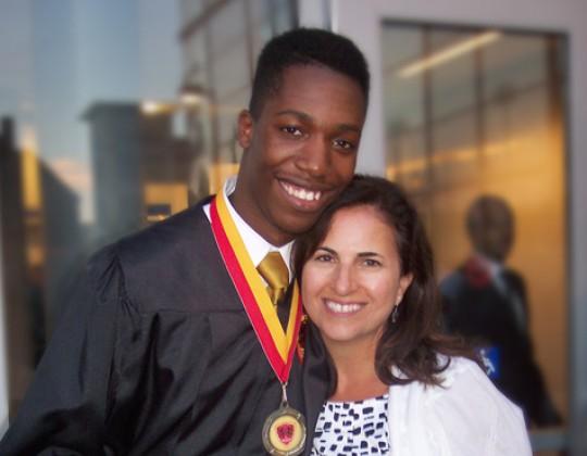 Andrew Graduates!