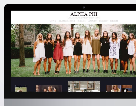 Alpha Phi Websites