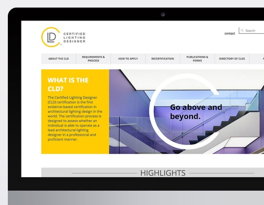 Certified Lighting Designer Website