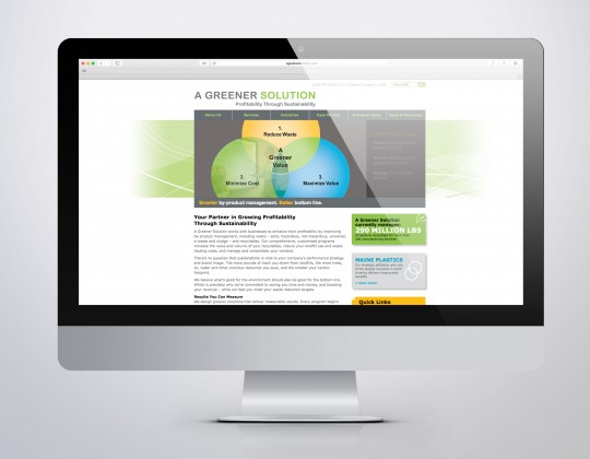 A Greener Solution Website